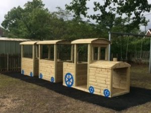 New train for the Thursley Road Recreation Ground