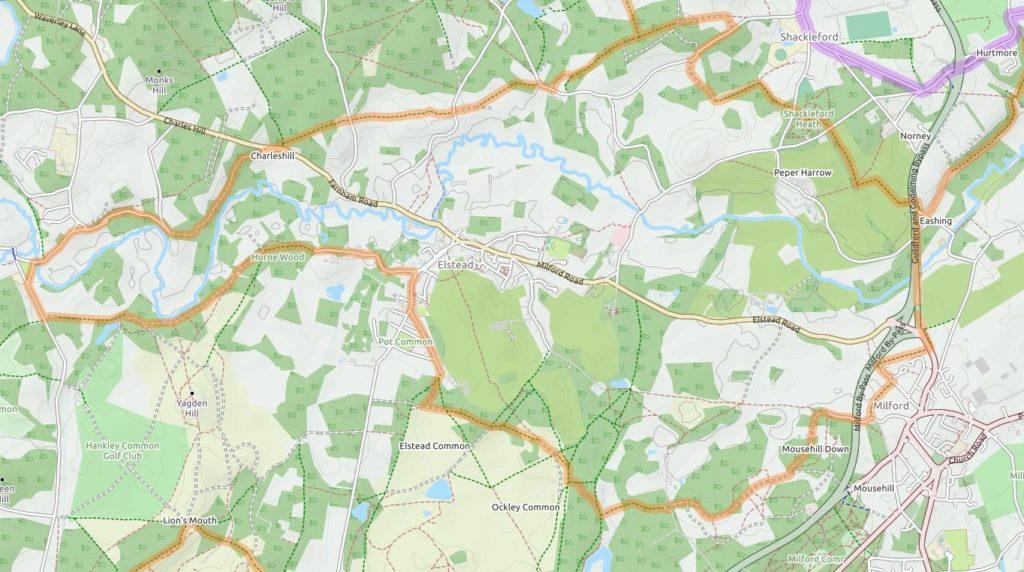 Cycle Map OpenMaps