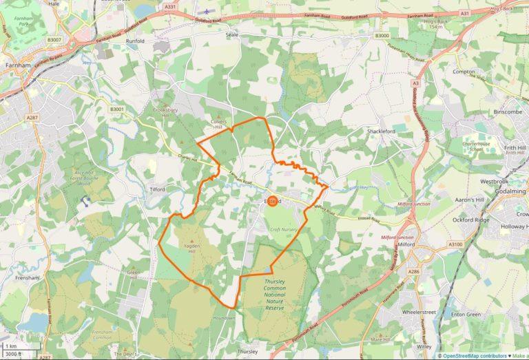 Elstead Open Map