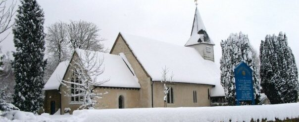 St James Church in the Snow