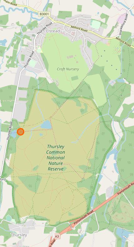 Thursley NNR Map