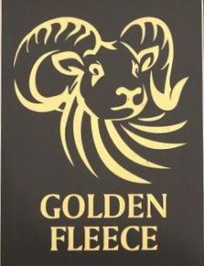 Golden Fleece sign2