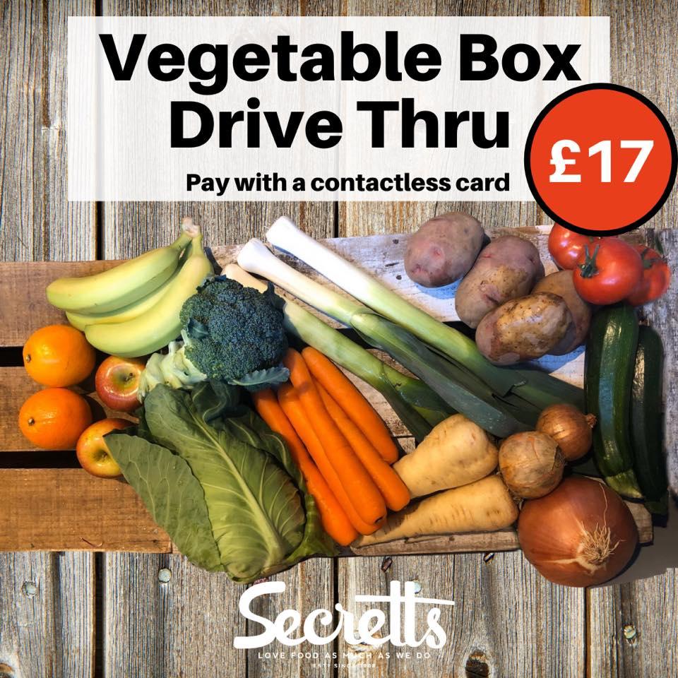 Secretts Vegetable Box
