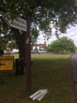 Elstead Green Sign rotated