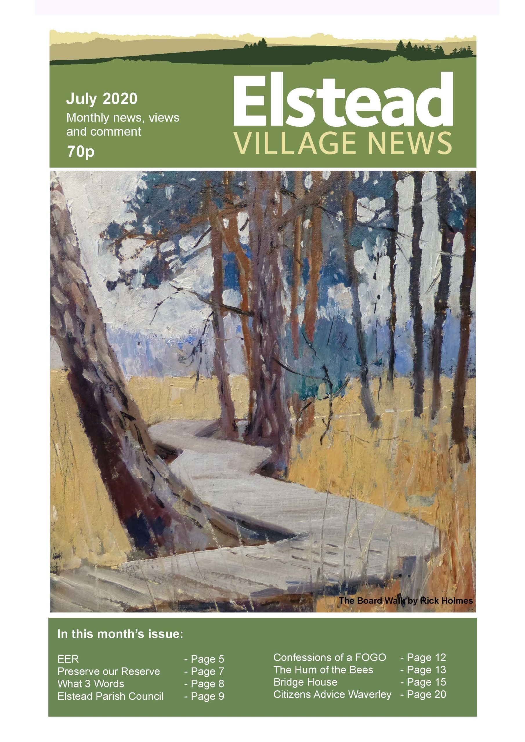 Elstead Village News – July edition now available