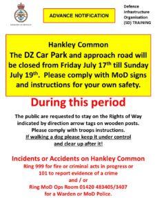 Hankley Common – Military Training
