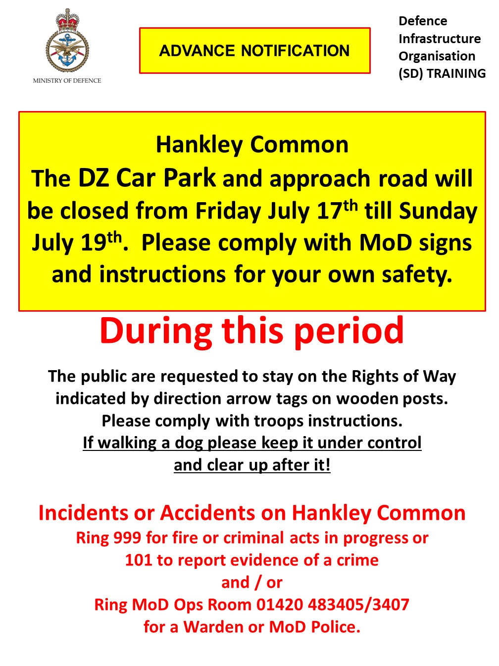You are currently viewing Hankley Common – Military Training