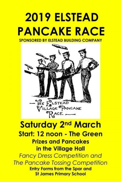 2019 Pancake race