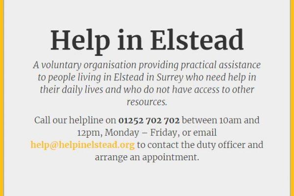 Help in Elstead